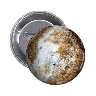 PLANET PLUTO v2 (solar system) ~ 2 Inch Round Button