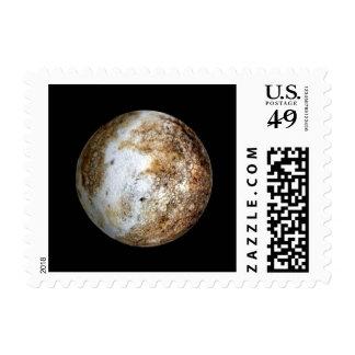 PLANET PLUTO v.2 natural (solar system) ~ Postage