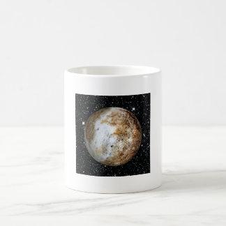 PLANET PLUTO v.2  star background (solar system) ~ Coffee Mug