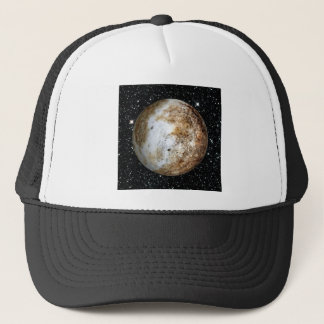 PLANET PLUTO v.2  star background (solar system) ~ Trucker Hat