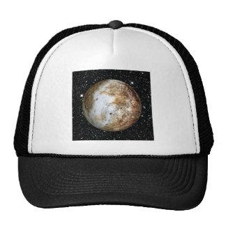 PLANET PLUTO v.2  star background (solar system) ~ Trucker Hat
