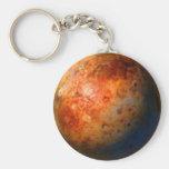 Planet PLUTO Zipper-Pull & Luggage Tag, Keychain