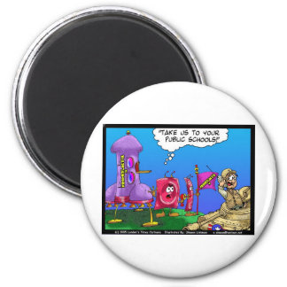 Planet Prophylactica Invades Earth Funny Gifts Magnet