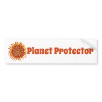 Planet Protector Bumper Sticker