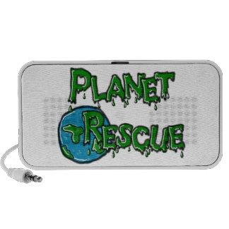 Planet Rescue Doodle Travel Speakers