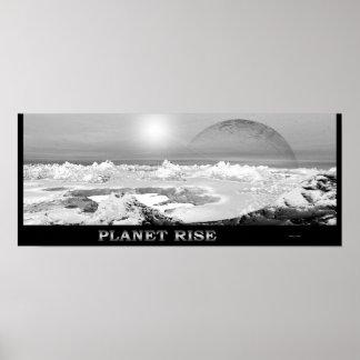 Planet Rise Print