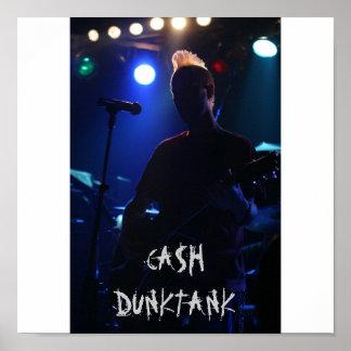 Planet Rock  3-12-09 w Saliva 093, CA$H DUNKTANK Poster