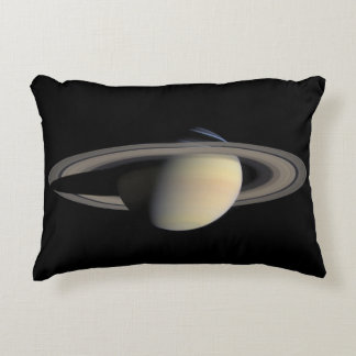 Planet Saturn Accent Pillow