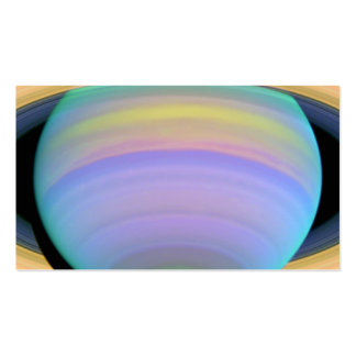 planet saturn business card
