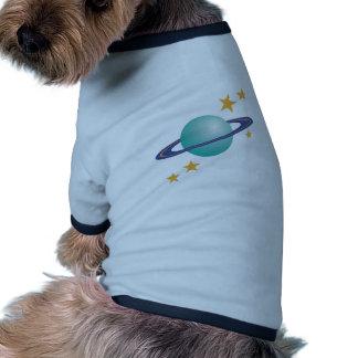 Planet Saturn Doggie Tshirt