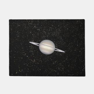 Planet Saturn Doormat