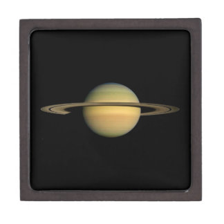 PLANET SATURN DURING EQUINOX (solar system) ~~ Jewelry Box
