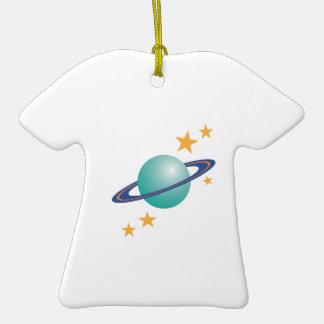 Planet Saturn Christmas Tree Ornament