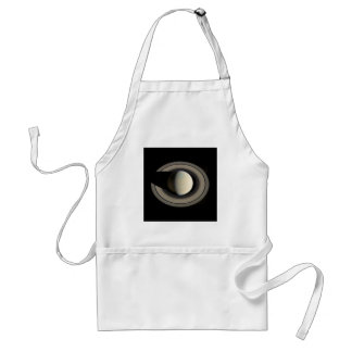 PLANET SATURN (solar system) ~ Adult Apron