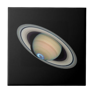 PLANET SATURN (solar system) ~ Ceramic Tile