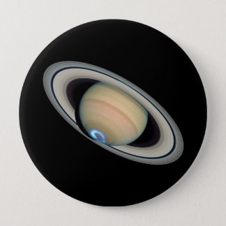 PLANET SATURN (solar system) ~ Pinback Button