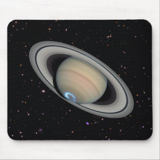 Planet Saturn Starry Sky Mousepad
