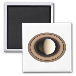PLANET SATURN v.2 (solar system) ~~ 2 Inch Square Magnet