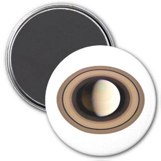 PLANET SATURN v.2 (solar system) ~~ 3 Inch Round Magnet