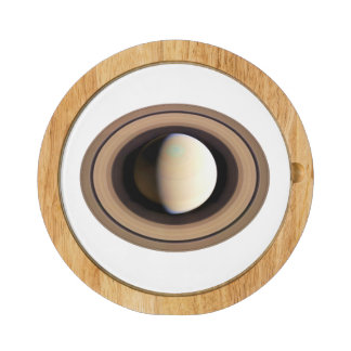 PLANET SATURN v.2 (solar system) ~~ Cheese Board