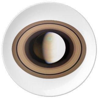 PLANET SATURN v.2 (solar system) ~~ Dinner Plate