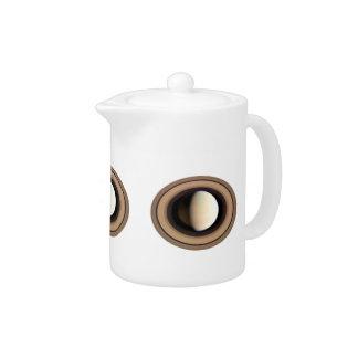 PLANET SATURN v.2 (solar system) ~~ Teapot
