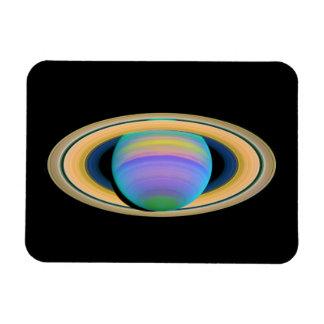 Planet Saturn's Rings in Ultraviolet Light Magnet