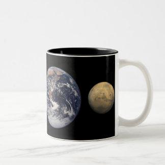 Planet Size Comparison Mug
