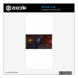 planet sky decals for the iPhone 4S