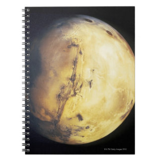 Planet Spiral Notebook