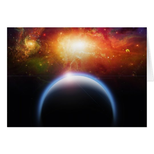 Planet  Starscape Card