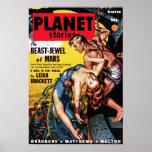 Planet Stories - Beast-Jewel of Mars Poster