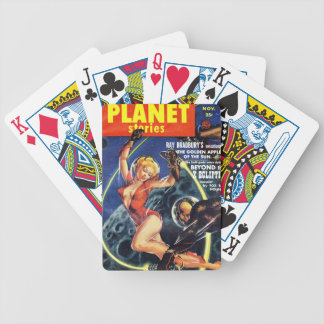 Planet Stories - Beyond the X Ecliptic Bicycle Playing Cards
