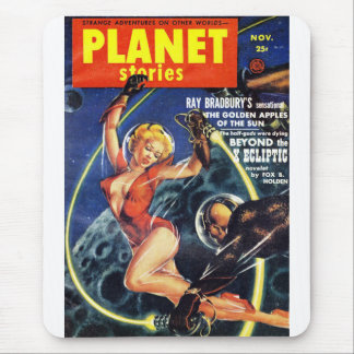 Planet Stories - Beyond the X Ecliptic Mouse Pad