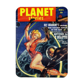 Planet Stories - Beyond the X Ecliptic Flexible Magnet