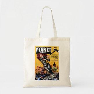 Planet Stories - Black Amazon of Mars Bag