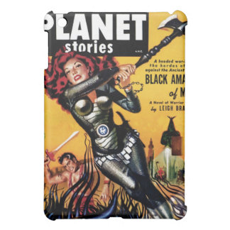 Planet Stories - Black Amazon of Mars iPad Case