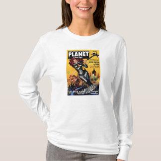 Planet Stories - Black Amazon of Mars T-Shirt