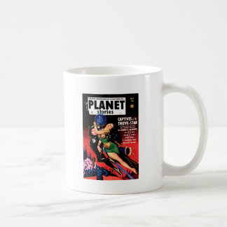 Planet Stories - Captives of the Thieve-Star Coffee Mug