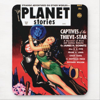 Planet Stories - Captives of the Thieve-Star Mouse Pad