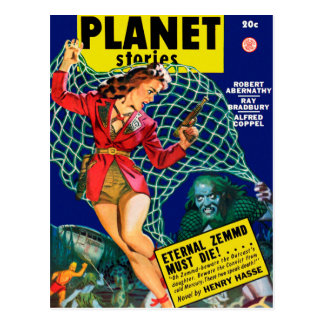 Planet Stories - Eternal Zemmd Must Die! Postcard