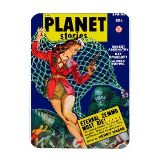 Planet Stories - Eternal Zemmd Must Die! Rectangular Photo Magnet