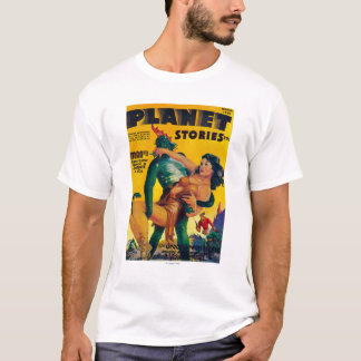 Planet Stories Magazine Cover 4 T-Shirt