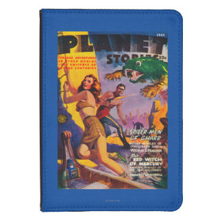 Planet Stories Magazine Cover 5 Kindle 4 Case