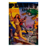 Planet Stories Magazine Cover 5 Poster