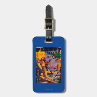 Planet Stories Magazine Cover 5 Travel Bag Tag