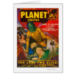 Planet Stories Magazine Cover 6 Cards