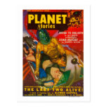 Planet Stories Magazine Cover 6 Post Card