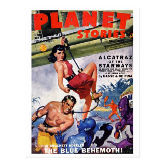 """Planet Stories"" Postcard"