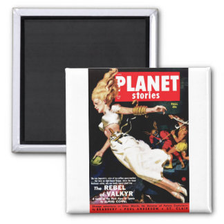 Planet Stories - Rebel of Valkyr Magnets